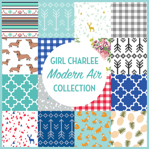 The Girl Charlee Fabrics Modern Air Fabric Collection Available Now