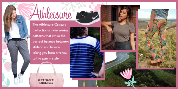 Girl Charlee Fabrics Sewing Pattern Capsule Collections :: Athleisure