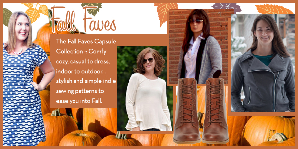 Girl Charlee Fabrics Sewing Pattern Collection :: Fall Faves