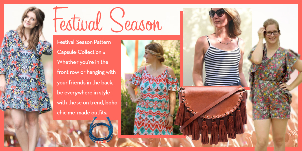 Girl Charlee Fabrics Sewing Pattern Collection :: Festival Season