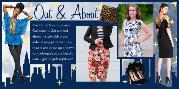 Girl Charlee Fabrics Sewing Pattern Capsule Collections :: Out & About