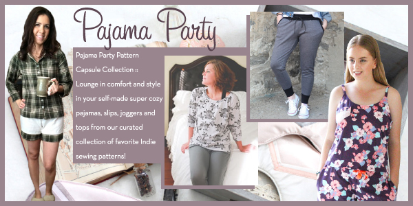 Girl Charlee Fabrics Sewing Pattern Collection :: Pajama Party