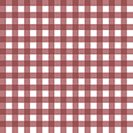 Desert Sky Marsala Gingham Cotton Spandex Knit Fabric