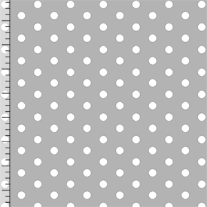 Half Yard Modern Reflection Gray Dots Cotton Spandex Knit Fabric