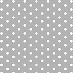Modern Reflection Gray Dots Cotton Spandex Knit Fabric