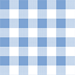Modern Reflection Giant Gingham Cotton Spandex Knit Fabric