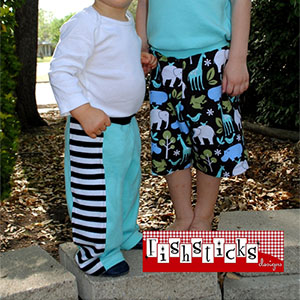 Fishsticks Designs AJ Bottoms Sewing Pattern