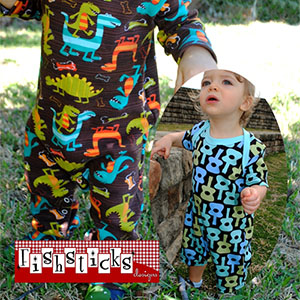 Fishsticks Designs The Austin Lee Coverall & Romper Sewing Pattern