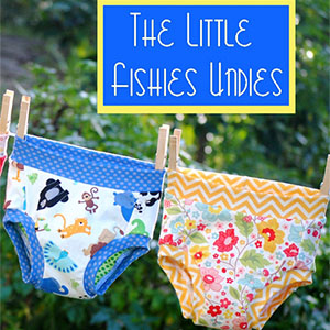 Fishsticks Designs Little Fishies Undies Sewing Pattern