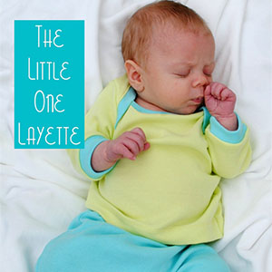 Fishsticks Designs The Little One Layette Sewing Pattern