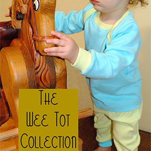 Fishsticks Designs Wee Tot Collection Sewing Pattern