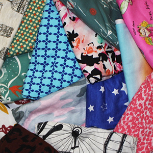 Novelty Mystery Mix 1/4 Yard Knit Fabric Bargain Lot