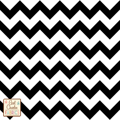 Chevron knit fabric - Girl Charlee Fabrics