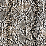 Python Snakeskin Cotton Jersey Knit Fabric