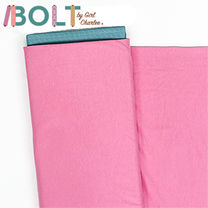 10 Yard Bolt Pink Solid Cotton Spandex Knit Fabric
