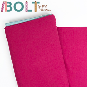 10 Yard Bolt Dark Fuchsia Pink Solid Cotton Spandex Knit Fabric