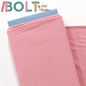 10 Yard Bolt Dusty Pink Solid Cotton Spandex Knit Fabric
