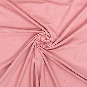 Half Yard Dusty Pink Solid Cotton Spandex Knit Fabric