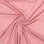 Dusty Pink Solid Cotton Spandex Knit Fabric