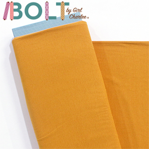 10 Yard Bolt Mustard Yellow Solid Cotton Spandex Knit Fabric