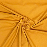 Mustard Yellow Solid Cotton Spandex Knit Fabric