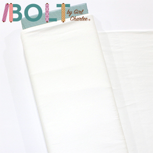 10 Yard Bolt Off White Solid Cotton Spandex Knit Fabric