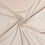 Nude Solid Cotton Spandex Knit Fabric