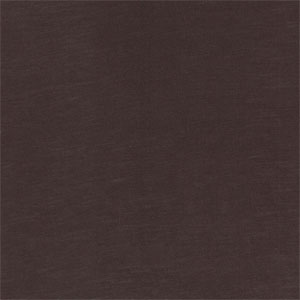 Dark Chocolate Brown Solid Cotton Spandex Knit Fabric