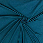 Peacock Blue Solid Cotton Spandex Knit Fabric