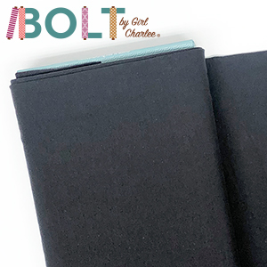 10 Yard Bolt Charcoal Gray Solid Cotton Spandex Knit Fabric