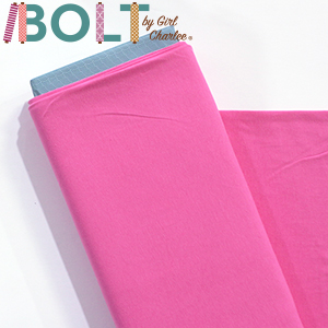 10 Yard Bolt Persian Pink Solid Cotton Spandex Knit Fabric