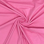 Persian Pink Solid Cotton Spandex Knit Fabric