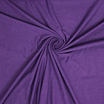 Royal Purple Solid Cotton Spandex Knit Fabric