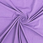 Lilac Purple Solid Cotton Spandex Knit Fabric
