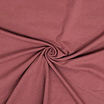 Dusty Marsala Solid Cotton Spandex Knit Fabric