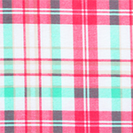 Sophie Plaid Cotton Spandex Blend Knit Fabric