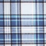 Sasha Plaid Cotton Spandex Blend Knit Fabric