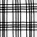 Sami Plaid Cotton Spandex Blend Knit Fabric