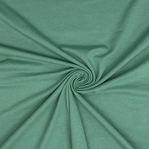 Half Yard Sage Green Solid Cotton Spandex Knit Fabric