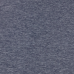 Indigo Space Dyed Solid Double Brushed Jersey Spandex Blend Knit Fabric