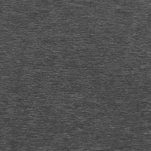 Black Space Dyed Solid Double Brushed Jersey Spandex Blend Knit Fabric