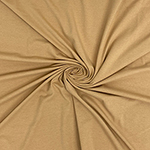 Camel Taupe Solid Cotton Spandex Knit Fabric