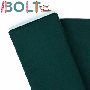 10 Yard Bolt Hunter Green Solid Cotton Spandex Knit Fabric