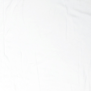 Bright White Solid Double Brushed Jersey Spandex Blend Knit Fabric