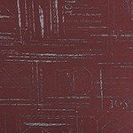 Gray Fashion News Burnout On Burgundy Heather Bamboo Spandex Blend Knit Fabric