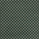 Metallic Silver Dots on Olive Green Cotton Spandex Blend Knit Fabric