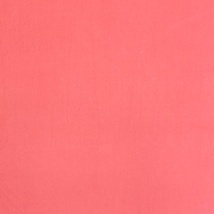 Coral Solid Double Brushed Jersey Spandex Blend Knit Fabric