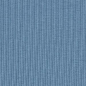 Cornflower Blue Wide Wale Cotton Ribbing Knit Fabric