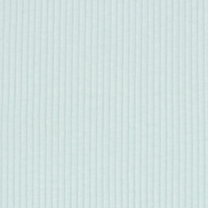 Half Yard Baby Blue Wide Wale Cotton Ribbing Knit Fabric