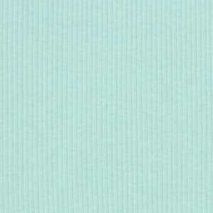Sky Blue Wide Wale Cotton Ribbing Knit Fabric